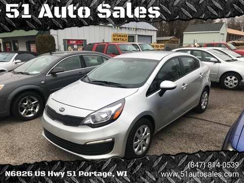 2017 Kia Rio for sale at 51 Auto Sales in Portage WI