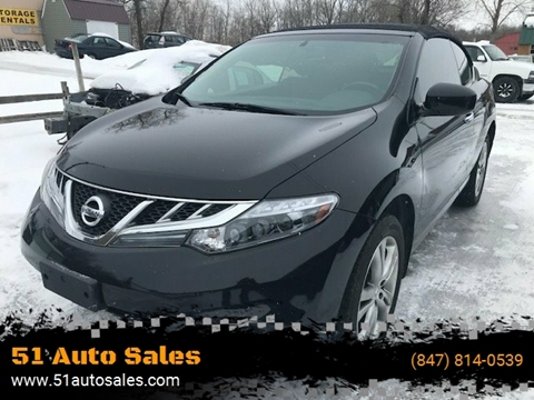 2011 Nissan Murano CrossCabriolet for sale at 51 Auto Sales in Portage WI