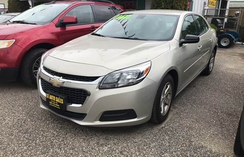 2016 Chevrolet Malibu Limited for sale at 51 Auto Sales in Portage WI