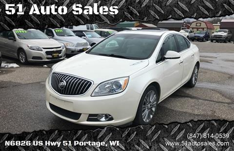 2012 Buick Verano for sale at 51 Auto Sales in Portage WI