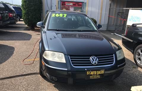 2004 Volkswagen Passat for sale at 51 Auto Sales in Portage WI