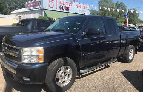 2008 Chevrolet Silverado 1500 for sale at 51 Auto Sales in Portage WI