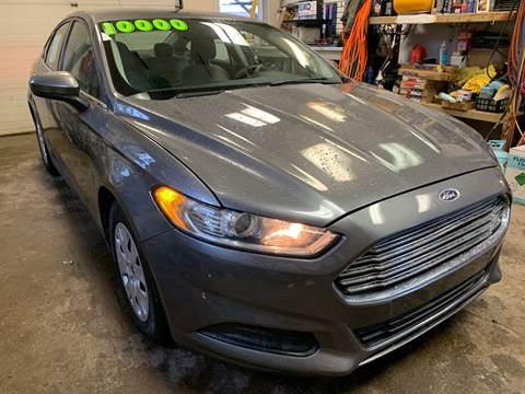 2014 Ford Fusion for sale at 51 Auto Sales in Portage WI