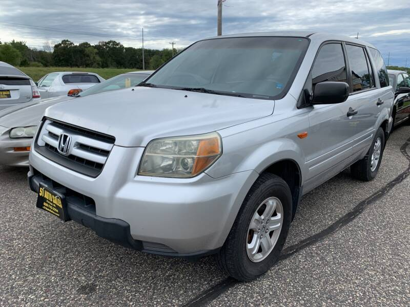 2006 Honda Pilot for sale at 51 Auto Sales in Portage WI
