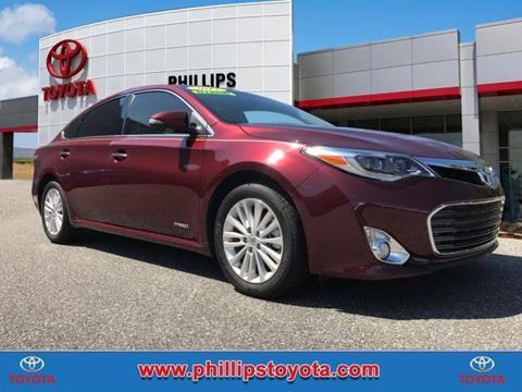 2013 Toyota Avalon Hybrid for sale in Leesburg, FL