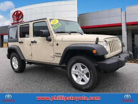 2017 Jeep Wrangler Unlimited for sale in Leesburg, FL