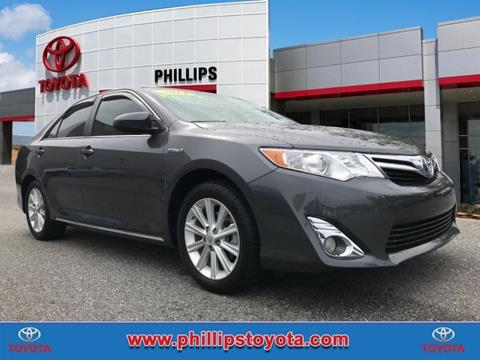 2014 Toyota Camry Hybrid for sale in Leesburg, FL