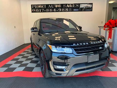 2016 Land Rover Range Rover Sport for sale in Chelsea, MA