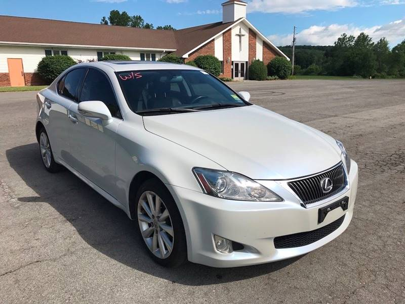 2009 Lexus IS 250 for sale at DETAILZ USED CARS in Endicott NY