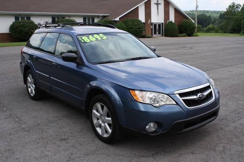 2008 Subaru Outback for sale at DETAILZ USED CARS in Endicott NY