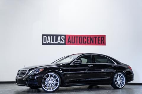 2015 Mercedes-Benz S-Class for sale in Carrollton, TX