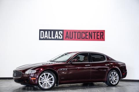 2008 Maserati Quattroporte for sale in Carrollton, TX