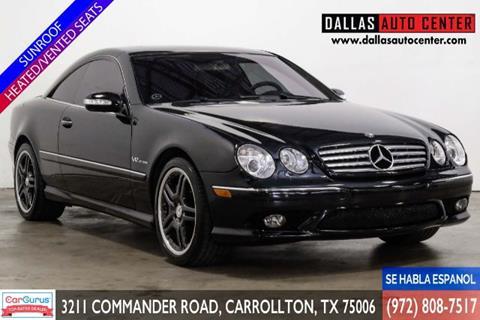 2005 Mercedes-Benz CL-Class for sale in Carrollton, TX