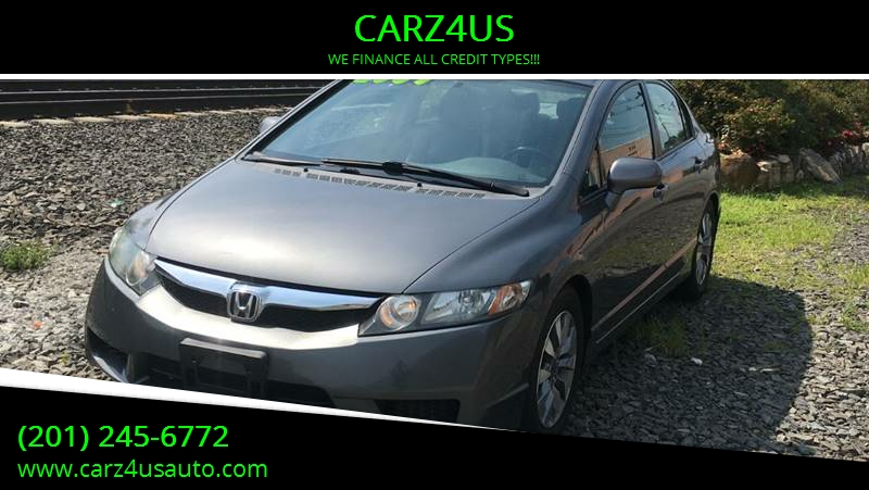2009 Honda Civic For Sale At CARZ4US In Paterson NJ