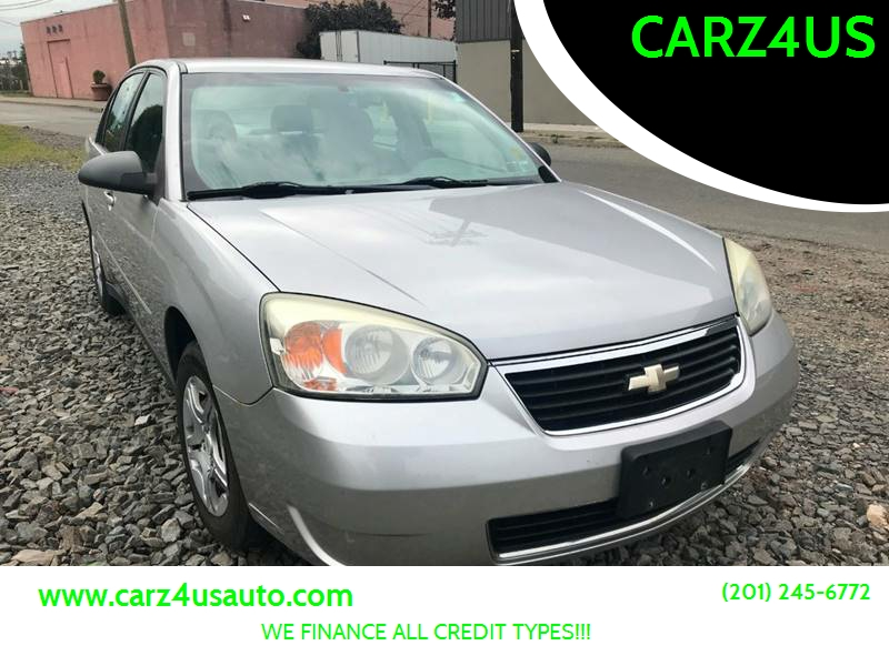 2007 Chevrolet Malibu For Sale At CARZ4US In Paterson NJ