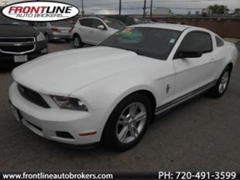 2010 Ford Mustang for sale in Longmont, CO