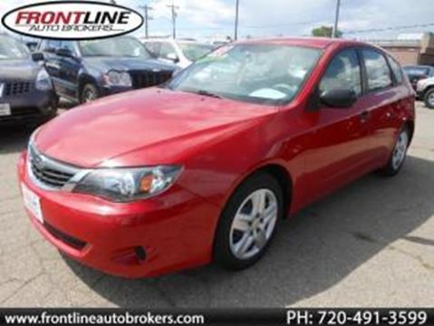 2008 Subaru Impreza for sale in Longmont, CO