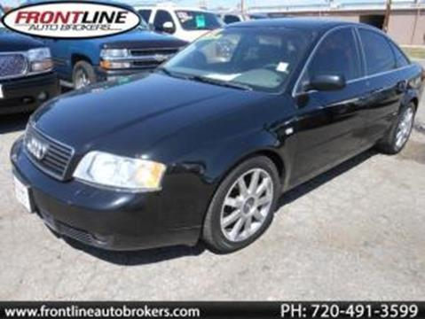 2004 Audi A6 for sale in Longmont, CO