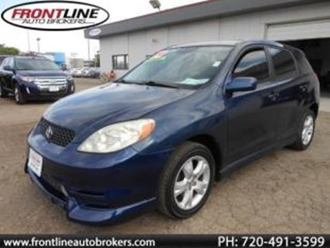 2004 Toyota Matrix for sale in Longmont, CO