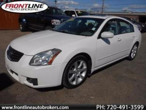 2008 Nissan Maxima for sale in Longmont, CO