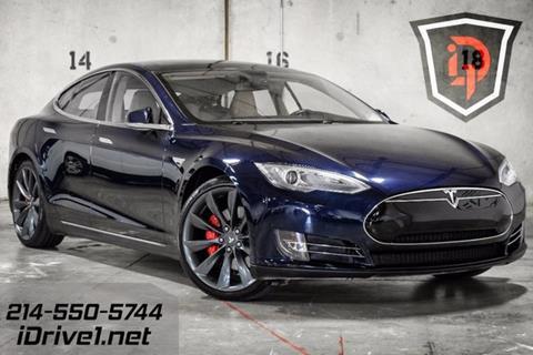 2014 Tesla Model S for sale in Carrollton, TX