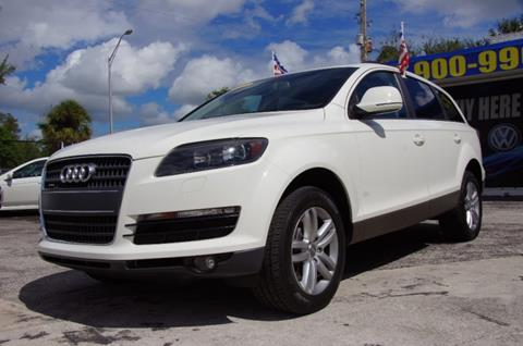 2008 Audi Q7 for sale in North Miami Beach, FL