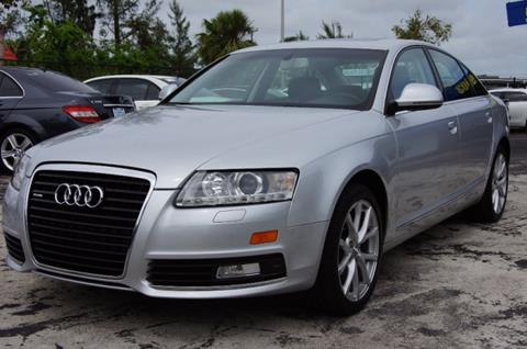 2009 Audi A6 for sale in North Miami Beach, FL