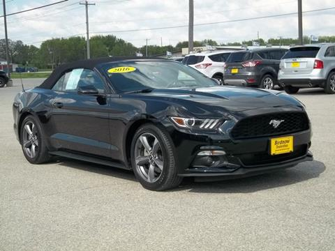 2016 Ford Mustang for sale in Oelwein IA