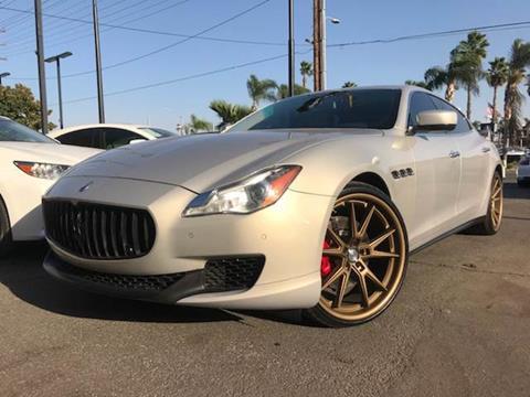 2014 Maserati Quattroporte for sale in Riverside, CA