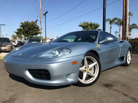 2000 Ferrari 360 Modena for sale in Riverside, CA