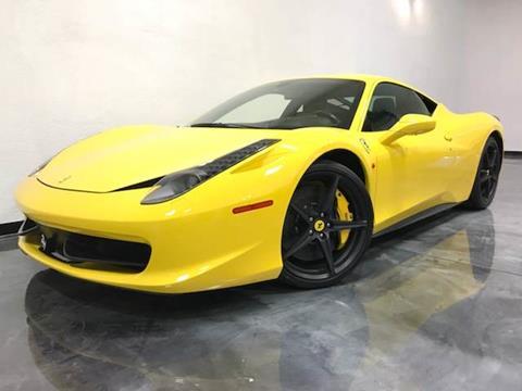 2011 Ferrari 458 Italia for sale in Riverside, CA