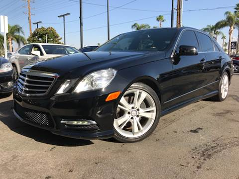 2013 Mercedes-Benz E-Class for sale in Riverside, CA