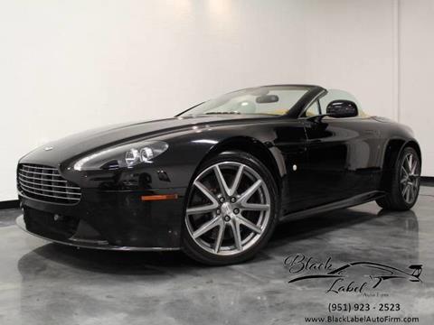 Aston Martin V Vantage S Roadster In Riverside CA BLACK - Aston martin vantage s