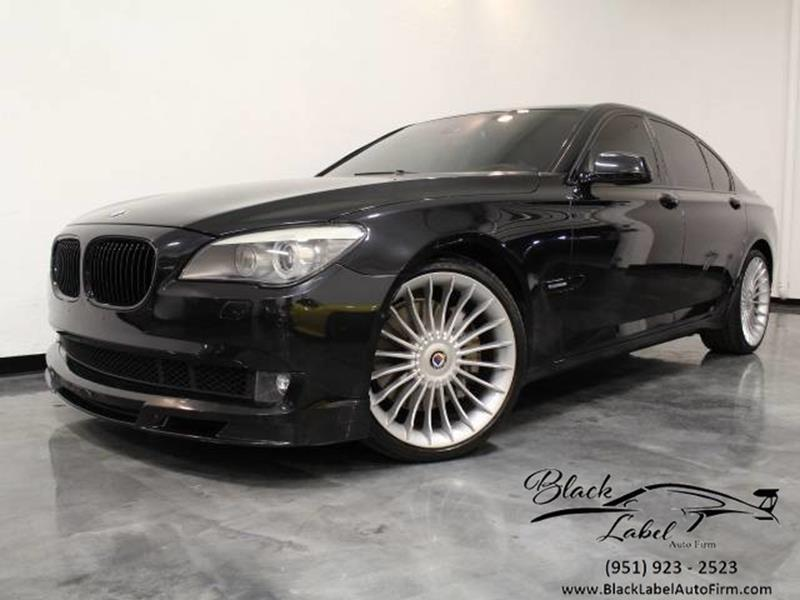 2012 BMW 7 Series For Sale At BLACK LABEL AUTO FIRM In Riverside CA
