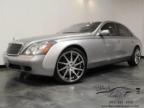 2004 Maybach 57 for sale in Riverside, CA