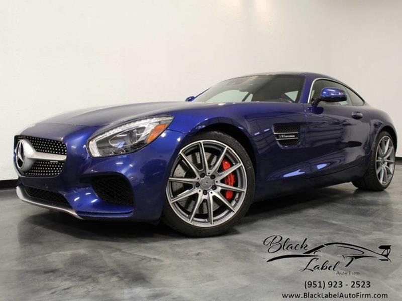 2016 Mercedes-Benz AMG GT S In Riverside CA - BLACK LABEL AUTO FIRM