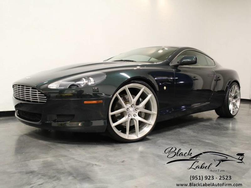 Aston Martin DB In Riverside CA BLACK LABEL AUTO FIRM - 2005 aston martin db9