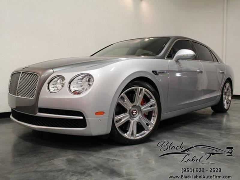 2015 Bentley Flying Spur V8 In Riverside CA - BLACK LABEL AUTO FIRM