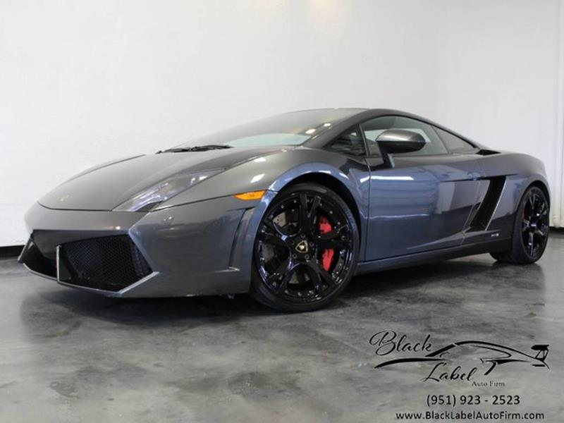 2014 Lamborghini Gallardo For Sale At BLACK LABEL AUTO FIRM In Riverside CA