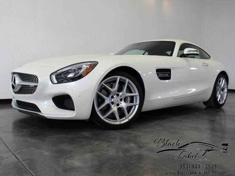 2017 Mercedes Benz AMG GT For Sale At BLACK LABEL AUTO FIRM In Riverside CA