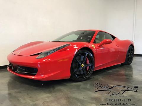 2010 Ferrari 458 Italia For Sale In Indiana Carsforsale