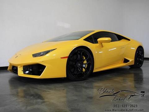 Used 2016 Lamborghini Huracan For Sale In California Carsforsale Com