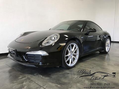2012 Porsche 911 for sale in Riverside, CA