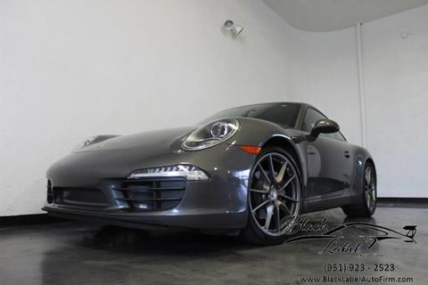 2013 Porsche 911 for sale in Riverside, CA