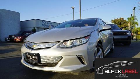 2017 Chevrolet Volt for sale in Riverside, CA
