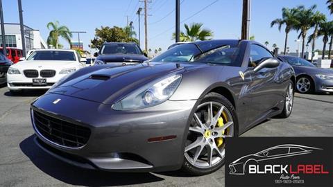 2010 Ferrari California for sale in Riverside, CA