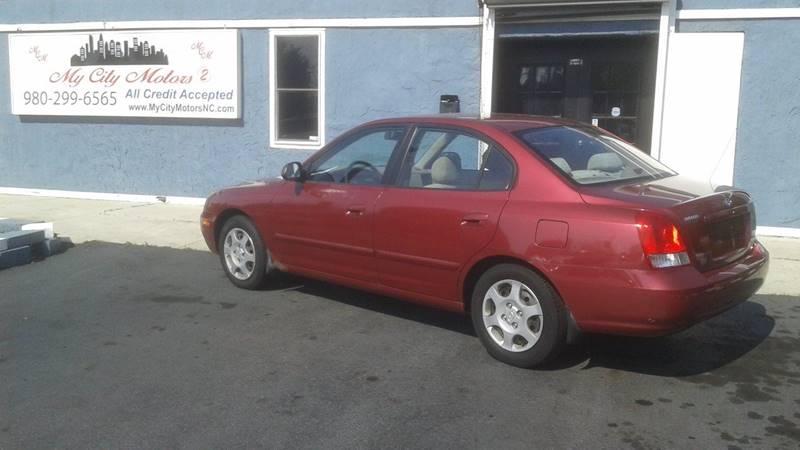 2002 Hyundai Elantra GLS 4dr Sedan   Charlotte NC