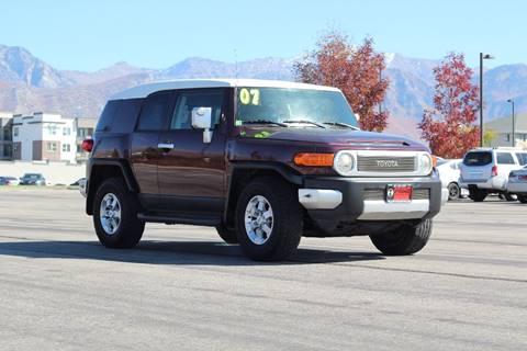 2007 Toyota FJ Cruiser for sale in Orem, UT