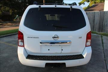 2008 Nissan Pathfinder for sale in Houston, TX