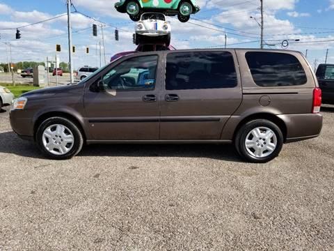 2008 Chevrolet Uplander for sale in Defiance, OH